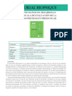 ATD14 EPP Escala de Evaluacion de La Psicomotricidad en Preescolar