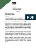 Bases Psiconeurológicas del Desarrollo y Aprendizaje
