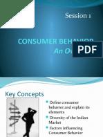 consumer behavior session 1