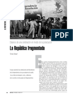 La republica fragmentada