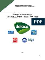 Stategia de Marketing La SC Delaco Distribution SRL