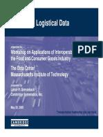 Integrating Logistical Data