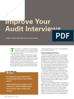 Improve Your Audit Interviews