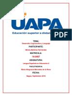 Tarea 1 Lengua Española 2