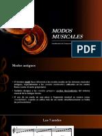 Modos Musicales - Ftos. de Composición - Weimar Toro R.