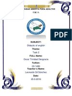 Tarea Didactica Del English 2