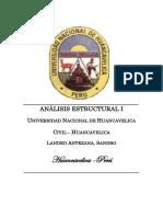 Análisis Estructural i - Método de Las Fuerzas