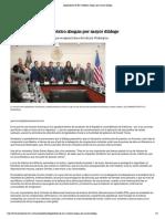 12-01-18 Legisladores de EU y México abogan por mayor diálogo