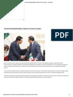 11-01-18 Amistad indisoluble México-California_ Ernesto Cordero