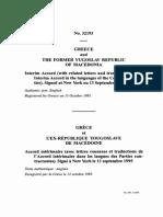 Interim Accord between Greece and FYRoM [13/10/1995]
