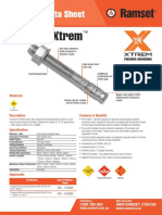 TruBolt™ Xtrem™ Tech Data Sheet