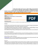 Course Descriptions Biology BS UF
