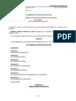 Ley8 General de Proteccion Civil