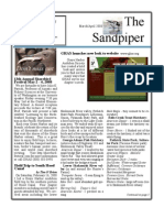 Mar-April 2008 Sandpiper Newsletter Grays Harbor Audubon Society