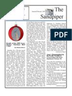 Jan-Feb 2009 Sandpiper Newsletter Grays Harbor Audubon Society
