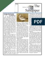 May-June 2009 Sandpiper Newsletter Grays Harbor Audubon Society