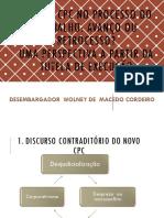 Sexta - Wolney de Macedo - O Novo CPC No Processo Do Trabalho