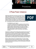 3 Phase Power Unbalance