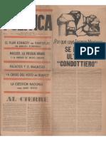 1961-03-29 Política -Segunda Época- Nº 5
