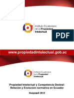 1.2. Carlos Cabezas Propiedad Intelectual y Competencia Desleal Relación y Evolución Normativa en Ecuador