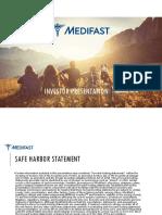 MED Medifast +ICR+Presentation+Jan+ 2018