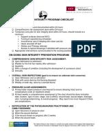 Wca Skin Integrity Checklist
