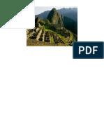 Articulo Sobre Machu Picchu