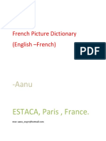 English French Picture Dictionary