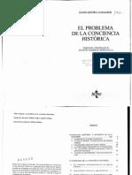 126256991 Gadamer El Problema de La Conciencia Historica