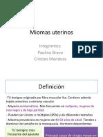 Miomas, Adenomiosis, Polipo