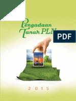Buku Pengadaan Tanah PLN Tahun 2015 Lengkap Nomor 0104 Tahun 2015