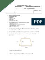 Diagnóstico Matematicas