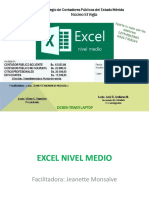 Excel Inter Medio