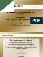 Seminar Peradi- Jepang Investment in Indonesia_Nov 2017