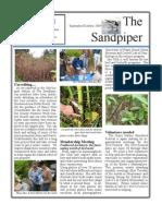 September-October 2009 Sandpiper Newsletter Grays Harbor Audubon Society