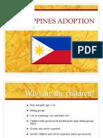 Philippine Adoption Info