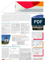 Poster Skripsi Fuzzy Time Series untuk Peramalan Data