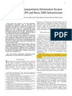 Building a Transportation Information System Using Only GPS and Basic SMS Infrastructure (Tidak Ada) (Anderson RE)