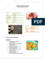 Contenidos de Alimentos