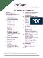 ADA Standards of Care 2015 Diabetes