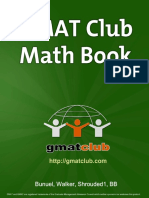 Math Book GMAT Club