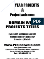Domain Wise