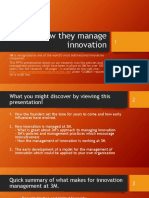 3M How They Manage Innovation
