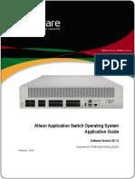 AlteonOS 30.1.0 Application Guide