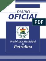Diário ofcial de petrolina