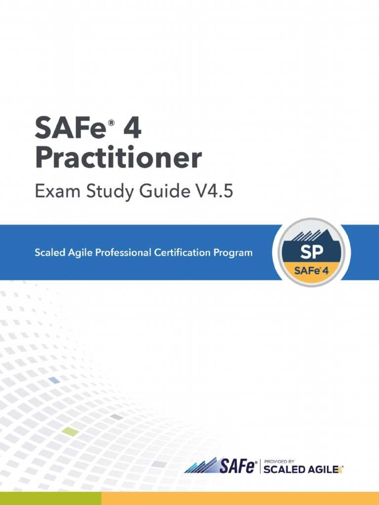 Sp4 Study Guide Agile Software Development Scrum Software