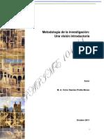Metodologia de La Investigacion-Introduccion