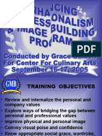 23 Enhancing Professionalism & Image Bldg - Center for Culinary Arts Sept 2005 - Pax Copy