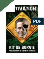 Motivation Kit de Survie