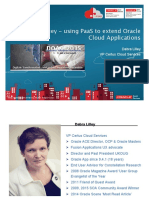 2015-Bsk-cloud-Debra Lilley-our Journey - Using Paas to Extend Oracle Cloud Applications-praesentation